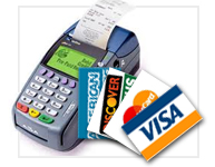 Accept Visa, Mastercard, American Express Credit Cards affordably with our merchant services!